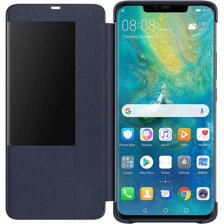 Husa Protectie Spate View Cover Deep Blue pentru Huawei Mate 20 PRO