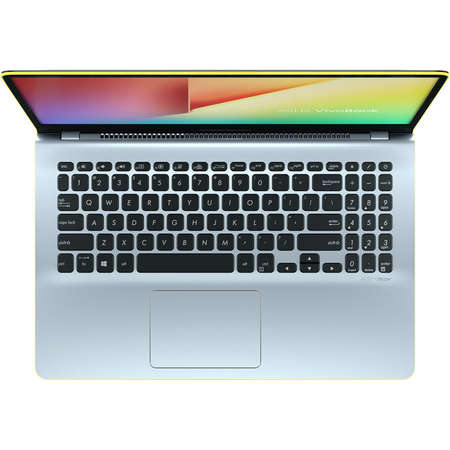 Laptop Asus VivoBook S15 S530UA-BQ056 15.6 inch FHD Intel Core i5-8250U 8GB DDR4 256GB SSD Endless OS Silver Yellow
