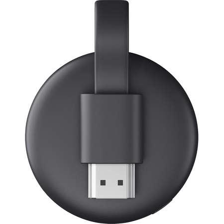 Media player Google Chromecast 3.0 HDMI Full HD 1080p 60fps Streaming Black