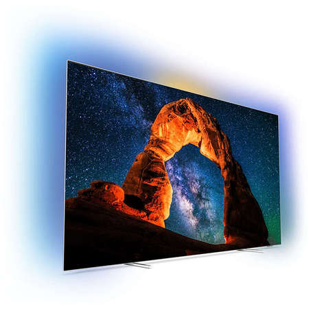 Televizor Philips OLED Smart TV 55OLED803/12 139cm Ultra HD 4K Ambilight Black
