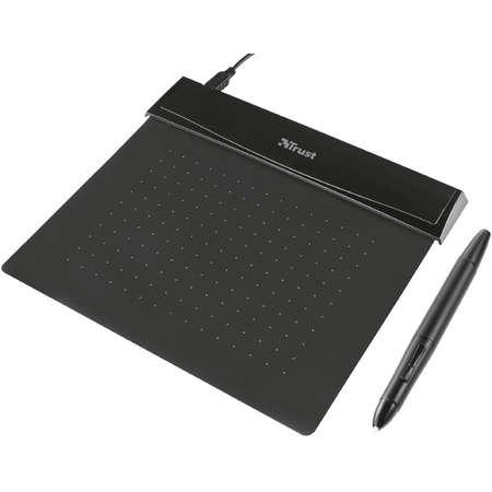 Tableta grafica Trust Flex Design Negru