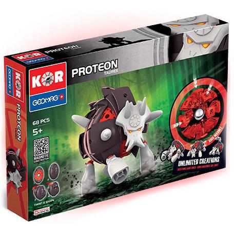 Set de constructie Magnetic Kor Proteon Taurex 68 piese thumbnail