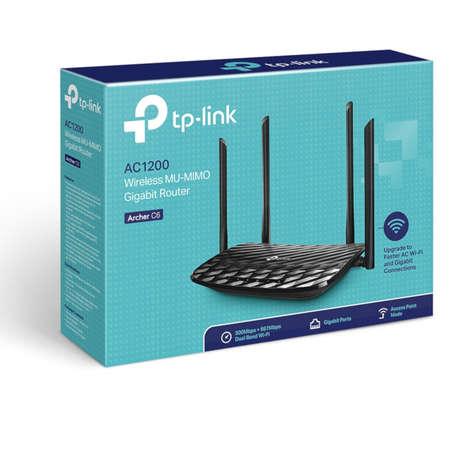 Router wireless TP-Link Archer C6 AC1200 Gigabit Wireless MU-MIMO