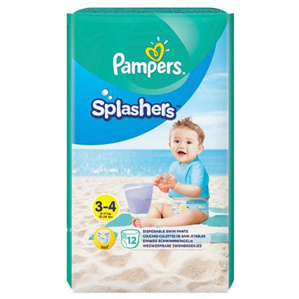 Scutece 81666974 Splash 3 (pentru apa) 12 buc thumbnail
