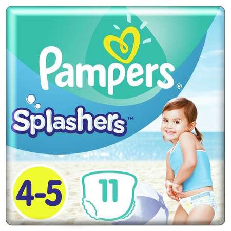 Scutece PAMPERS 81666976 Splash 4 (pentru apa) 11 buc