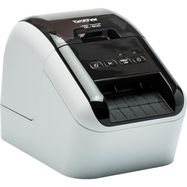 Imprimanta de etichete QL-800 300DPI Auto-Cutter USB thumbnail