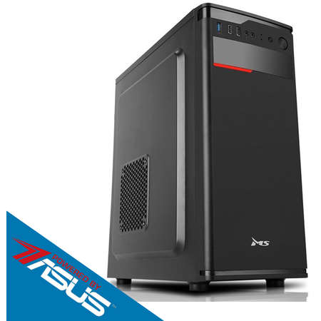 Sistem desktop Start V2 Powered by ASUS Intel Celeron Dual-Core J1800 2.41 GHz Intel HD Graphics 2GB DDR3 250GB HDD 500W Black