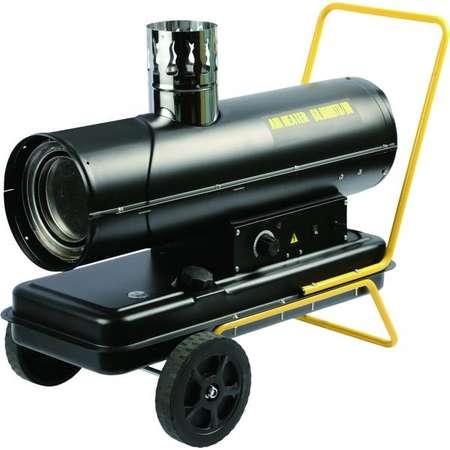 Tun de caldura pe motorina cu ardere indirecta  Diesel Intensiv PRO 20kW Negru