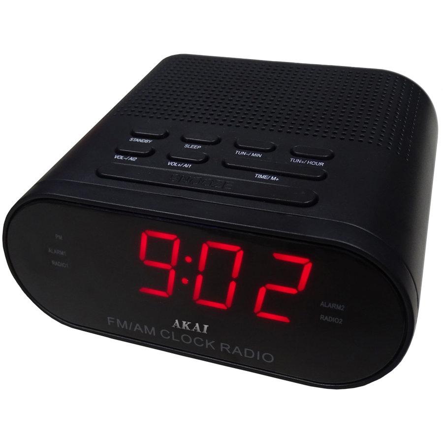 Radio cu ceas CR002A-219 Negru thumbnail