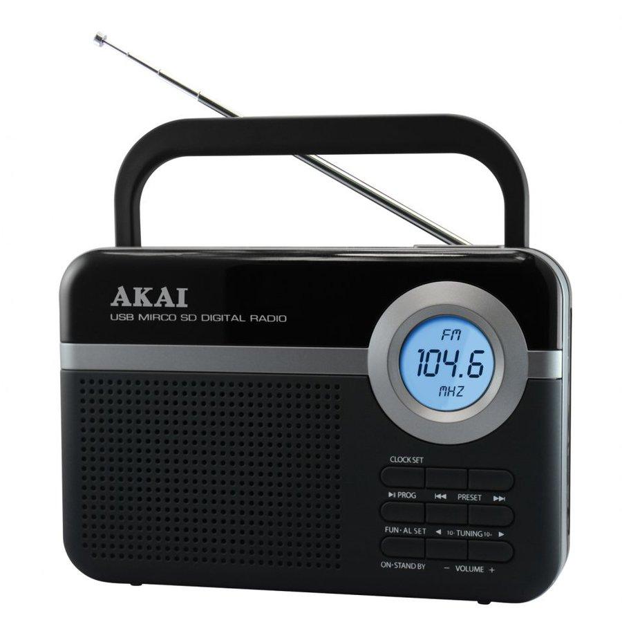 Radio portabil PR006A-471U FM Negru thumbnail