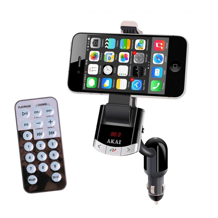 Modulator FM FMT-8118BT cu suport telefon si incarcare thumbnail