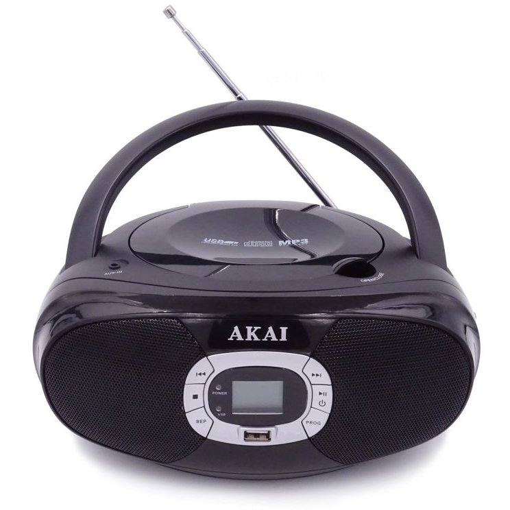 Microsistem audio BM004A-614 CD-Player Radio USB 2x1W Black thumbnail