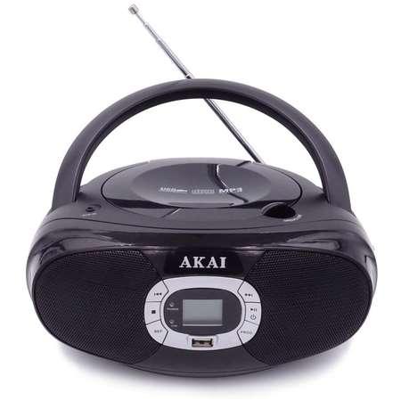 Microsistem audio Akai BM004A-614 CD-Player Radio USB 2x1W Black