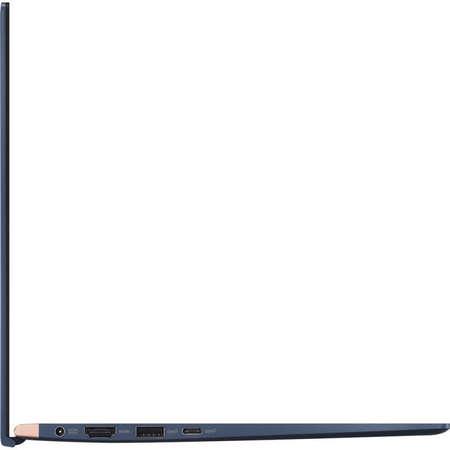 Laptop Asus ZenBook UX433FA-A5082R 14 inch FHD Intel Core i7-8565U 16GB DDR3 512GB SSD Windows 10 Pro Royal Blue
