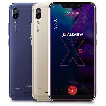 Smartphone Allview Soul X5 Style 32GB 3GB RAM Dual Sim 4G Blue