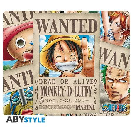 Mousepad ABYStyle One Piece Wanted Pirates