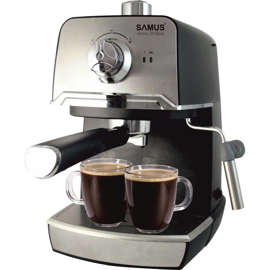 Espressor cafea Aroma 20 Black 1.2 litri 20 Bari 850W thumbnail