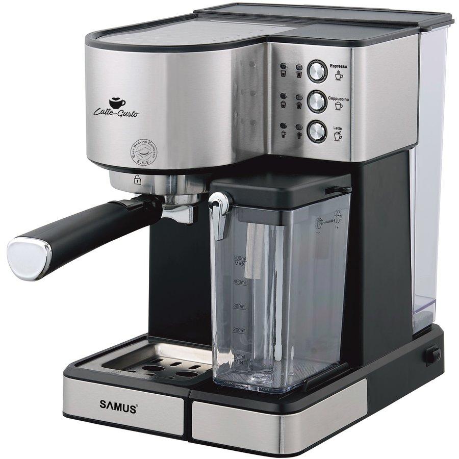 Espressor cafea Latte-Gusto 1.8 litri 20 Bari 1350W Gri