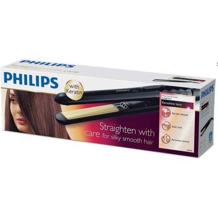 Placa de indreptat parul Philips HP8348/00 KeraShine 230 grade Negru