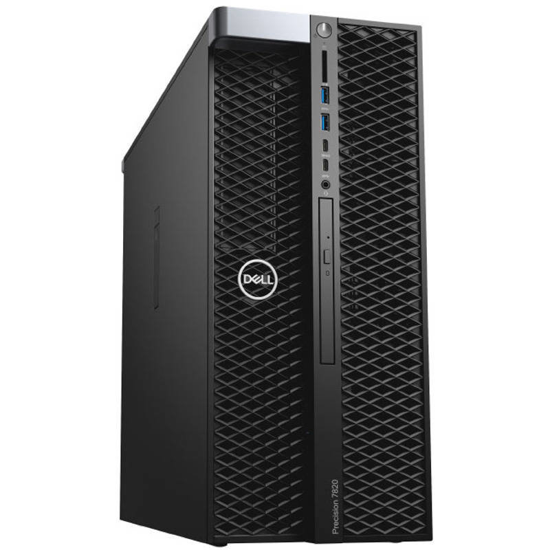 Sistem desktop Precision 5820 Intel Xeon W-2133 32GB DDR4 2TB HDD 256GB SSD nVidia Quadro P4000 8GB DVDRW Windows 10 Pro 3Yr BOS thumbnail