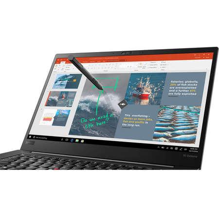 Laptop Lenovo ThinkPad X1 Extreme 15.6 inch FHD Intel Core i5-8300H 8GB DDR4 256GB SSD nVidia GeForce GTX 1050 Ti 4GB FPR Windows 10 Pro Black