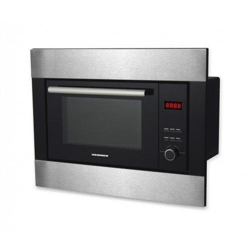 Cuptor cu microunde incorporabil HMW-23BIXBK 800W Grill 900W 23 litri Negru / Argintiu thumbnail