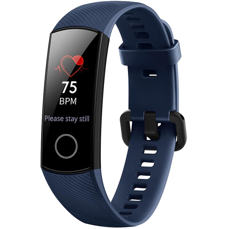 Bratara Fitness Honor Band 4 Rezistenta la apa pana la 5 ATM ecran tactil AMOLED Autonomie baterie pana la 14 zile Bluetooth Blue thumbnail