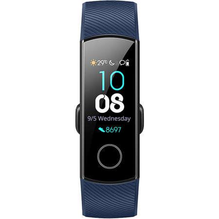 Bratara Fitness Huawei Honor Band 4 Rezistenta la apa pana la 5 ATM ecran tactil AMOLED Autonomie baterie pana la 14 zile Bluetooth Blue