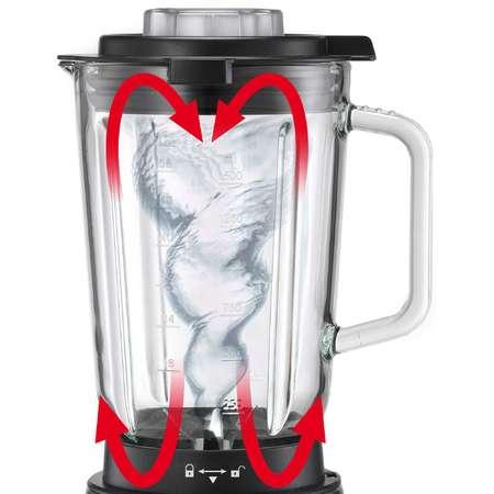 Blender de masa Trisa Master Mix Red 1000W 1.5 litri