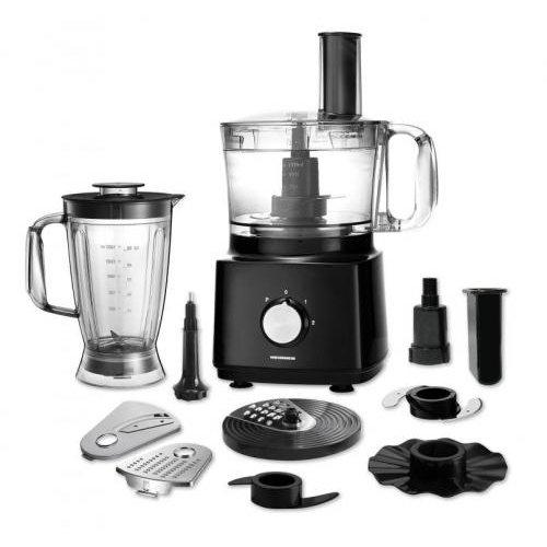 Robot de bucatarie Cuisine Chef HFP-750BK 750W Bol 1.2 litri Blender 1.8 litri Negru thumbnail