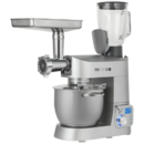 Robot de bucatarie Teesa EasyCook 1200W Castron 6 litri Blender 1.5 litri Argintiu