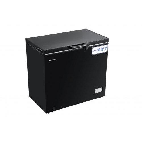 Lada frigorifica HCF-205NHBK Clasa A+ 200 litri Negru thumbnail