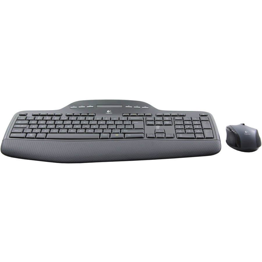 Kit Tastatura + Mouse Wireless Desktop MK710 Black thumbnail