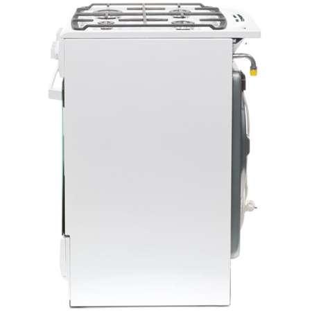 Aragaz Mixt Hansa FCMW582109 4 arzatoare cuptor electric aprindere electrica Alb
