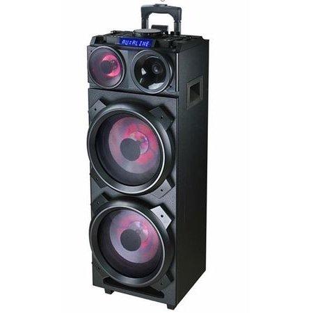Sistem audio DJ-3210 Bluetooth FM Efecte DJ Negru thumbnail