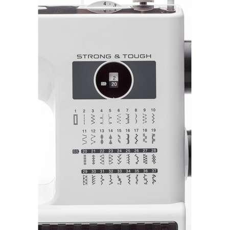 Masina de cusut Brother HF37 Strong & Tough Alb / Negru