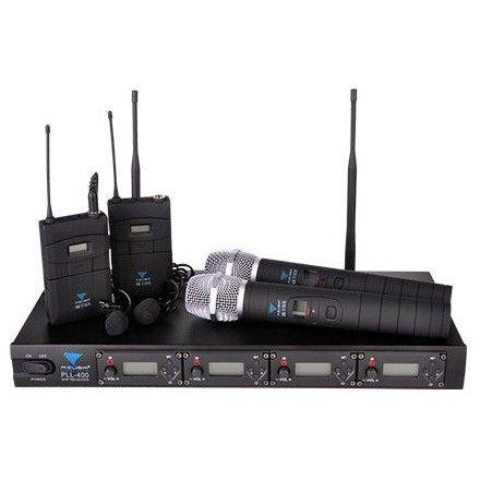 Statie 4 Microfoane PLL400