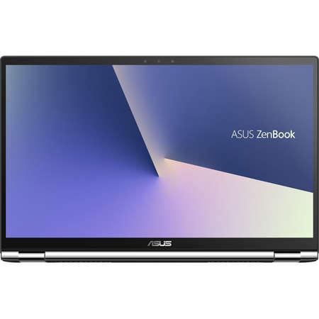 Laptop Asus ZenBook Flip 15 UX562FD-EZ044R 15.6 inch FHD Touch Intel Core i7-8565U 16GB DDR4 2TB HDD 256GB SSD nVidia GeForce GTX 1050 2GB Windows 10  Pro Gun Grey