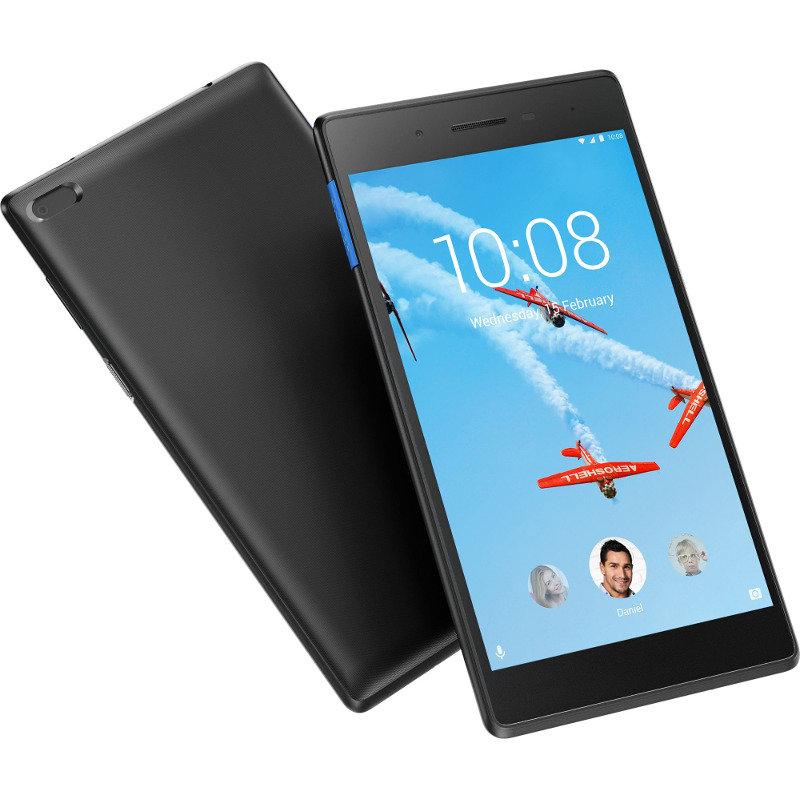 Tableta TAB E7 TB-7104I 7 inch Cortex A7 1.3 GHz Quad Core 1GB RAM 16GB flash WiFi 3G Android 8.0 Slate Black thumbnail