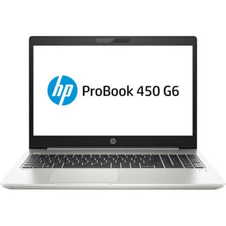 Laptop HP ProBook 450 G6 15.6 inch FHD Intel Core i5-8265U 8GB DDR4 1TB HDD 256GB SSD FPR Silver