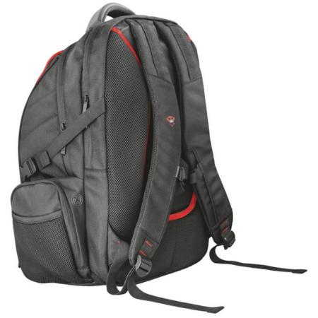 Rucsac laptop Trust GXT 1250 Hunter Gaming 17.3 inch Negru