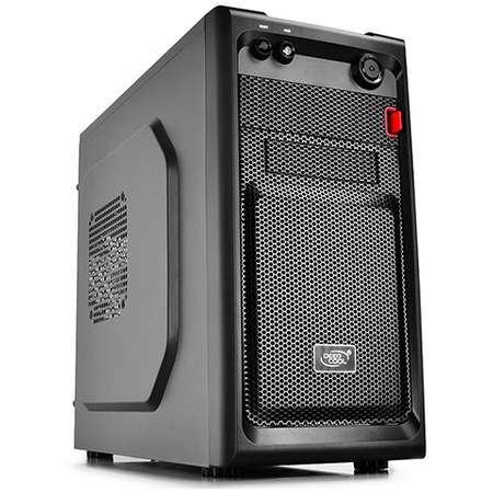Sistem desktop ITGalaxy Volt V3 Intel Pentium G4560 Dual Core 3.5GHz 4GB DDR4 SSD 120GB HDD 1TB AMD Radeon RX 550 2GB DDR5 FreeDos Black