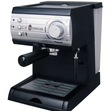 Espressor cu pompa Studio Casa Aroma SC 422 Argintiu 1050W 1.5 litri