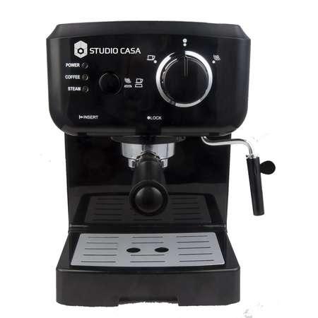 Espressor cafea Studio Casa Caffe Crema SC 1901 1050W 1.5 litri Negru