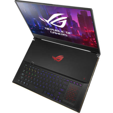 Laptop Asus ROG Zephyrus S GX701GX-EV018R 17.3 inch FHD Intel Core i7-8750H 24GB DDR4 1TB SSD nVidia GeForce RTX 2080 8GB Windows 10 Pro Black