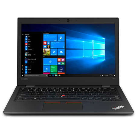 Laptop Lenovo ThinkPad L390 13.3 inch FHD Intel Core i3-8145U 8GB DDR4 256GB SSD FPR Windows 10 Pro Black