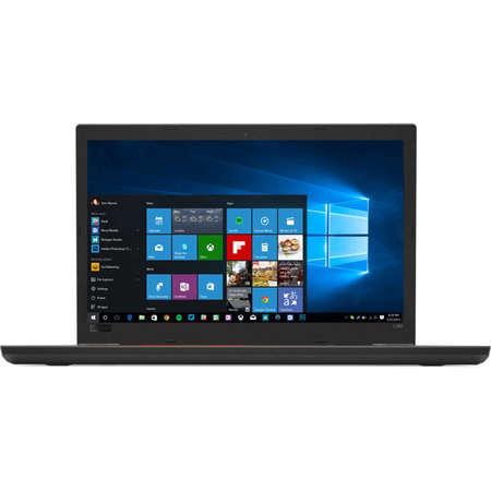 Laptop Lenovo ThinkPad L580 15.6 inch FHD Intel Core i5-8250U 8GB DDR4 256GB SSD Windows 10 Pro Black