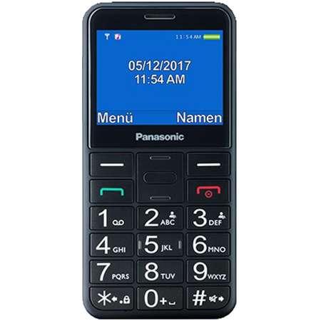 Telefon mobil pentru Seniori Panasonic KX-TU150EXB Buton SOS Negru