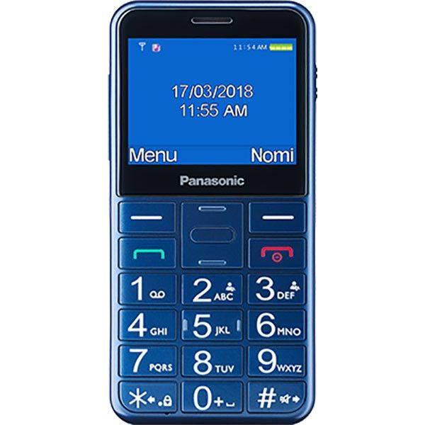 Panasonic Telefon mobil pentru Seniori KX-TU150EXC Buton SOS Albastru