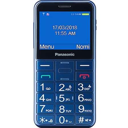 Telefon mobil pentru Seniori Panasonic KX-TU150EXC Buton SOS Albastru